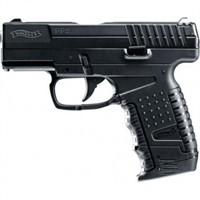 Пистолет пневматический (Walther,PPS,4,5мм,Сплав. черн. Blowback)
