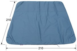 Палатка зимняя рыболовная Лотос (Пол утепленный Куб 3 (210*210) ПУ1000)