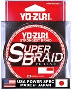 Шнур YO-Zuri (0,19мм,PE SUPERBRAID,150yds/137м)