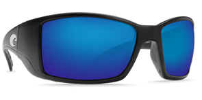 Очки Costa (Blackfin 580 GLS (Black/Blue Mirror, L))