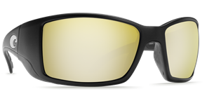 Очки Costa (Blackfin 580 GLS (Matte Black/Sunrise SIlver Mirror, L))
