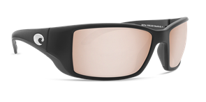 Очки Costa (Blackfin 580 GLS (Matte Black GF/SIlver Copper, L))