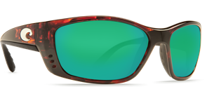 Очки Costa (Fisch 580 P C-Mate 2.0 (Tortoise, Green Mirror, XL))