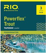 Подлесок Rio Powerflex Trout Leader (3X, 9 ft, 8.2lb, 3.7kg)