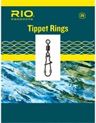 Соединительные кольца Rio Tippet Rings, Trout, 25lb/11.4kg, 2mm