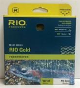 Шнур нахлыстовый Rio (Gold, WF5F, Moss/Gold)