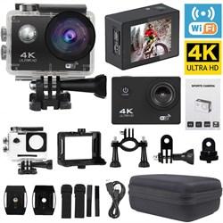 "Экшен - камера ""ACTION CAMERA Ultra HD 4K"" Waterproof 30m; Wi-Fi - фото 12095"
