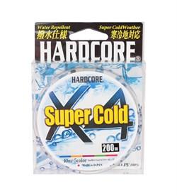 Шнур Yo-Zuri PE Hardcore X4 Duel super cold PE 200м 5 color - фото 12569