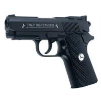 Пистолет пневматический (Colt,Defender,4,5мм,Черн. с пласт. накладками)